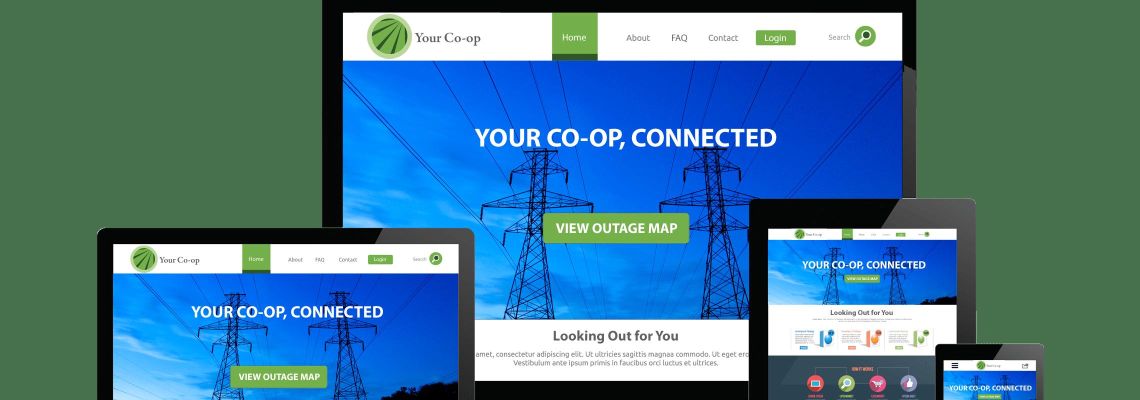 Responsive Co-op Web Design